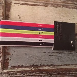 Nike headbands 6 pack swoosh sport 2.0 unisex new